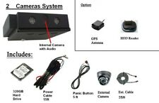 Mobile School Bus/Tours Bus Surveillance 2 Cameras System with 320GB HDD
