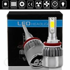 2018 H11 H8 Bright High Power 1500W 6000K Cree LED Headlight Kit US Fast Ship