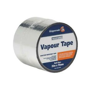 Self adhesive foil Vapour Tape 25 metres *Multibuy Discounts Available*
