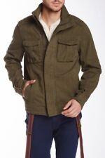 537b2124 Jachs Mens Military Style Jacket-New with Defect (Dark Olive, Medium)