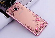 Bling Glitter Diamond Soft Silicone TPU Case Cover For Samsung All Phone Models