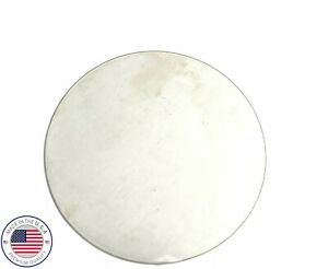 "Disc Shaped .125 A1011 Steel 1.50/"" Diameter Round 10 pcs. 1//8/"" Steel Plate"
