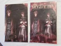 THE MORTICIAN #1 SANTA FUNG VIRGIN VARIANT SET LTD 300 NM+ IN 🖐️ SOLD OUT 🔥
