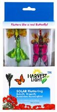 (1) 4 Pk Solar Flutter Kit Butterfly Hummingbird Dragon Fly Bumble Bee 830-1419