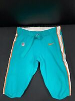 #94 MIAMI DOLPHINS NIKE GAME USED AQUA CURRENT STYLE PANTS 2019/2020 SEASON