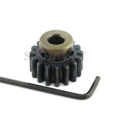 1.5M15T 6.35mm Bore Hole 15 Teeth Module 1.5 Motor Metal Gear Wheel Top Screw
