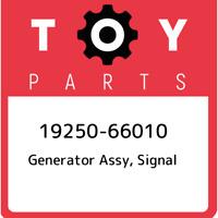 19250-66010 Toyota Generator assy, signal 1925066010, New Genuine OEM Part