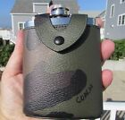 NEW COACH camo flask 32440 coated canvas metal $95 camouflage masculine rugged