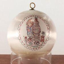 1976 Betsey Clark Potbellied Stove Unbreakable Satin Ornament. No Box!