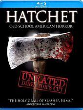 Hatchet [Director's Cut] (2010, Blu-ray NEW) BLU-RAY/WS