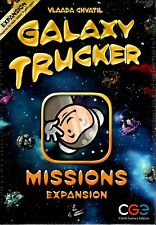 Czech Games Edition Galaxy Trucker Missions Expansion New