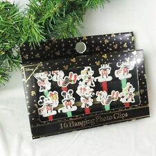 DISNEY Foto Clips Girlande * MICKEY & MINNIE MOUSE * Christbaum Weihnachten