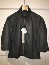 Rick Owens Amazing Leather Jacket New With Tags Amazing Sz44