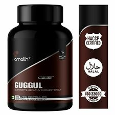 Guggul Commiphora Mukul Extrait 2.5% Guggulsterones Poudre 90 Capsule 500mg