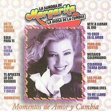 Momentos de Amor by Margarita y la Sonora de Margarita (CD, May-2002,...