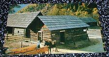 Jail House of Hand Hewed Logs Revelstoke B.C. Postcard Canada