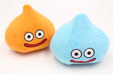 Square Enix Dragon Quest Smile Slime Plush Toy Slime Blue Orange S Size Set 2