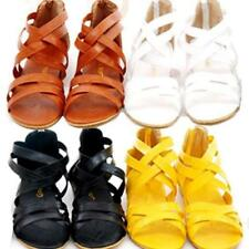 Flat (0 to 1/2 in.) Synthetic Solid Sandals & Flip Flops for Women