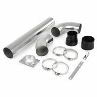 Alu Powerrohr Sport Luftfilter Ansaug Rohr Set universell verwendbar