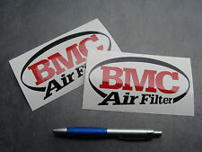 2x stickers BMC Air Filter Auto Moto 19cm decals pegatinas aufkleber A36-070