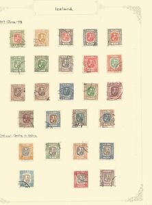 Iceland,used selection, lot 4