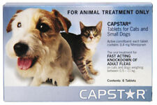 CAPSTAR Flea Treatment Tablets for Cats and Small Dogs - 11mg 1 Tablet