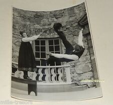 PHOTOGRAPHIE ancienne : DANSE FOLKLORIQUE NORVEGIENNE -  24.5x18 cm
