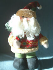 "12"" Plush Santa Claus by Shine Arts"
