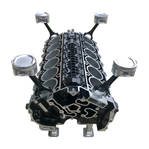 V12 Mercedes Engine Block Coffee Table
