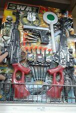 Set polizia fucili pistola Kit gioco di qualità giocattolo toy a35