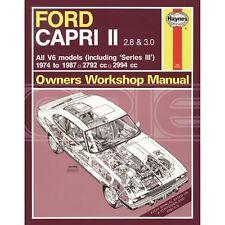 Haynes Ford Capri II (& III) 2.8 & 3.0 V6 (74 - 87) Classic Reprint Only (1309)