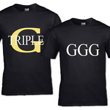 Triple G T-Shirt GGG T-Shirt Boxing HIS Hers Boxen Vater Mutter Vater Mama Kind
