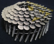 1 1/2 x .120 Ringshank 304 Stainless Steel Coil Roofing Nails 1800ct