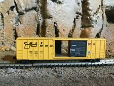 N Scale Micro trains 50' opening door boxcar RBOX RAILBOX  old logo