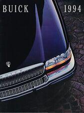 BIG 1994 BUICK Brochure:PARK AVE,ROADMASTER,LeSABRE,REGAL,CENTURY,SKYLARK