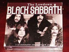 Black Sabbath The Lowdown - Biography + Interview 2 CD Box Set 2012 SXYCD101 NEW