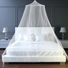 Mosquito Net Bed Home Bedding Lace Canopy Elegant Netting Princess Queen Size