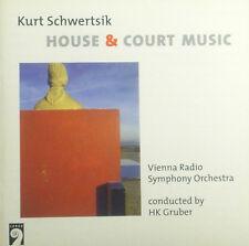 CD KURT SCHWERTSIK - house & court musique