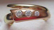 Echtschmuck-Ringe aus mehrfarbigem Gold für Damen (7 mm) Ø 56