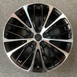 "NEW 18"" 🔥Alloy BLACK Wheel For 2018-2020 TOYOTA CAMRY 🔥OEM Quality Rim 75221B"