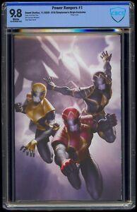 Power Rangers (2020) #1 616/Simpleman's Virgin Cover B CBCS 9.8 Blue Label White