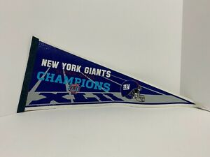 New York Giants Superbowl XLII Pennant 2008 NY Football