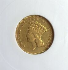 1855-S INDIAN PRINCESS GOLD $3 ANACS VF30 ONLY 6600 MINTED RARE!! UNDERGRADED!