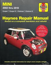 2002-2013 Mini Cooper/S Clubman/S Haynes Repair Service shop Manual Book 3165