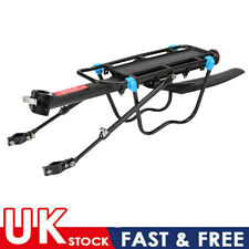Bike Rack Pannier Rack with Rear Mudguard Bicycle Luggage Cargo Carrier Stand