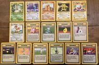 1999 Pokemon Base Set Rare Cards inc Dragonair, Electrode, you Choose - All 16!!