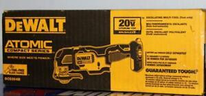 Dewalt DCS354B Oscillating Multi-Tool 20V Cordless - New in Box