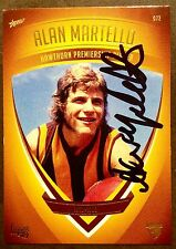 2011 SELECT AFL HAWTHORN HERITAGE CARD NO 72 PERSONALLY SIGNED ALAN MARTELLO