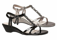 HUSH PUPPIES HOLLIE WOMENS COMFORTABLE LEATHER MEMORY FOAM SANDALS/SHOES
