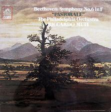 Comme neuf SEALED LP BEETHOVEN Symphony 6 PASTORAL Riccardo MUTI 1980 ANGEL SZ-37639